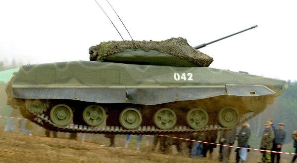Ходовая часть танков. Подвеска