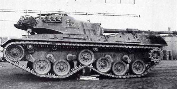 Испытания подвески танка