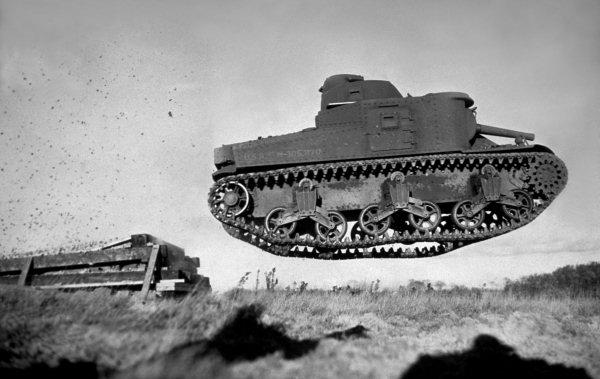 Ходовая часть танков подвеска