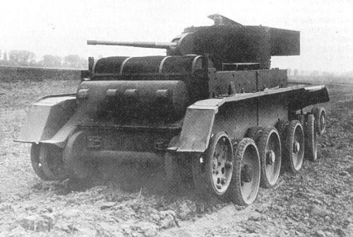 Русские танки №24 - БТ-5
