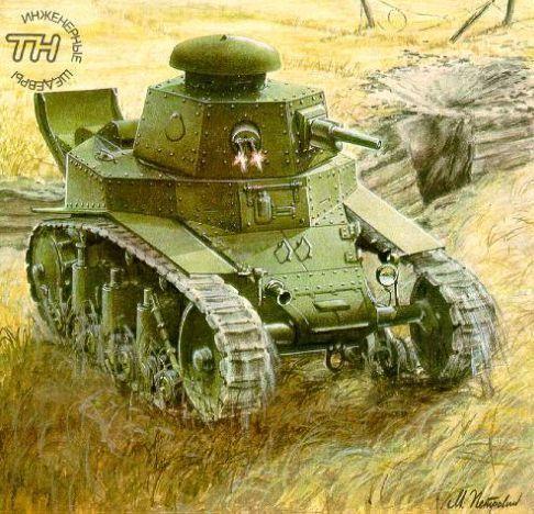 Легкий танк МС-1 (Т-18)