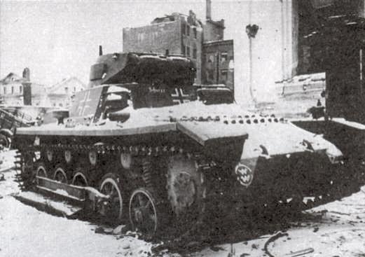 Боевые машины вермахта легкий танк pz