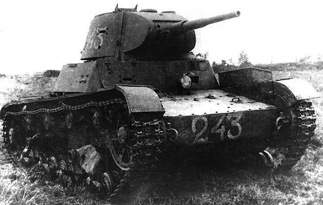 В 1940 году был проведен последний цикл изменений конструкции танка Т-26.  На часть машин во время войны с Финляндией...
