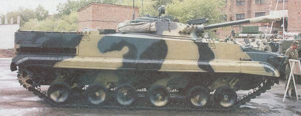 Компоновочная схема БМП-3: