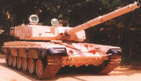 Основной боевой танк Арджун (Arjun) Индия.