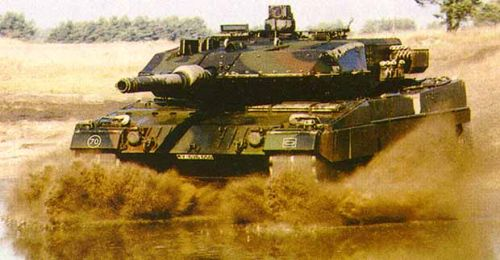 Leopard 2: the beast that is a German tank - WAFF - World Armed
