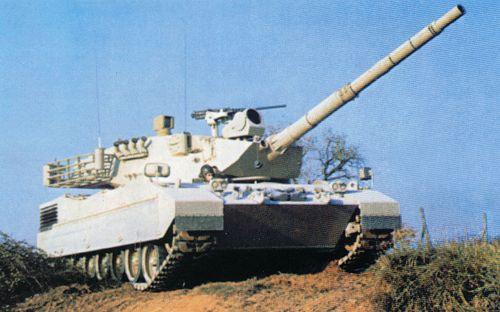 意大利OF 40主战坦克