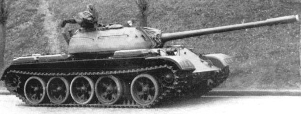 Дальше - Т-72, Т-80 - катки