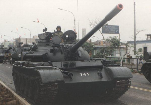 Т 55 перу
