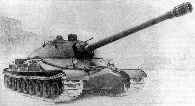 IS-7 tank prototype.