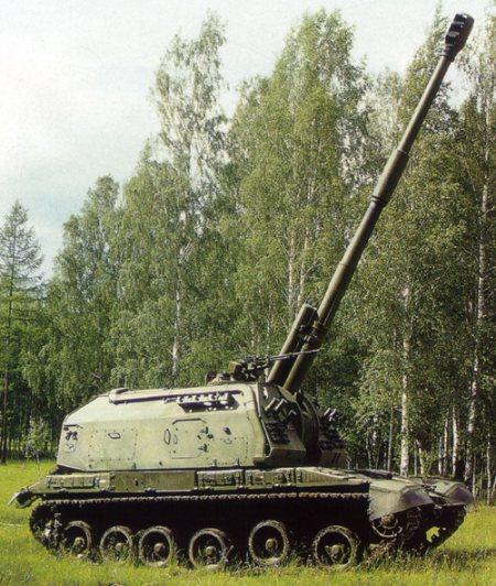 "Регистрация.  Младший сержант.  152-мм самоходная гаубица 2С19  ""Мста-С ""."