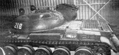 Опытный танк объект 167 с птурс малютка