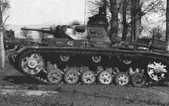 Средний танк pz iii