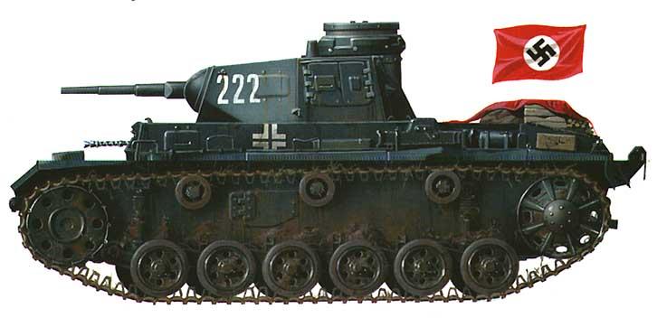 Pz iii ausf f 2 тд франция май 1940 г