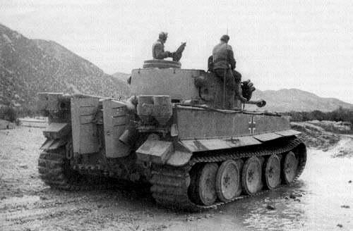 Тяжелый танк pz vi ausf h тигр