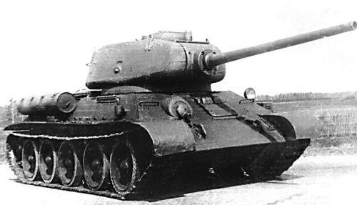 Т-34-85 против