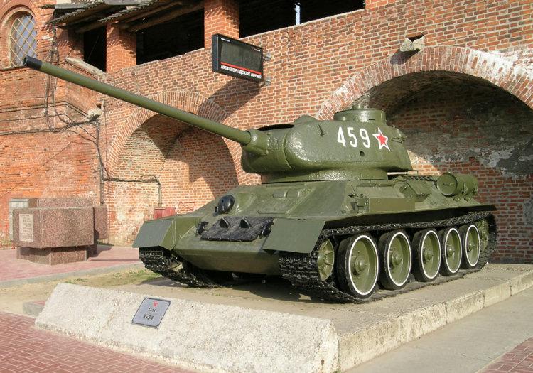 Подборка фотографий Т-34-85