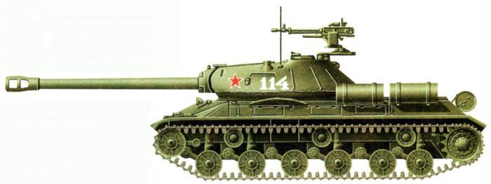 ИС-3. Стандартная защитная окраска