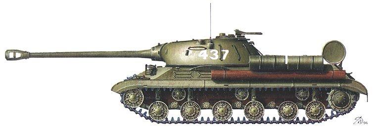 Тяжелый танк ИС-3М. Советско-китайская ...