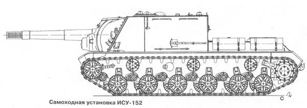 базе тяжелого танка ИС-1