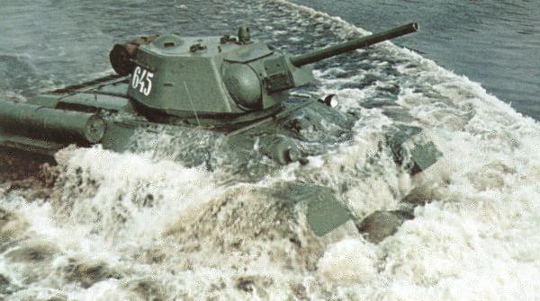 Танки т-34 выходят на рубеж