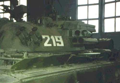 ПУ на башне Т-55