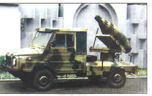 ...украинская мобильная артиллерийская система на джипе ЛуАЗ. а вот были и такие разработки на базе ЛуАЗика.