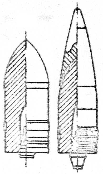 105-мм бронебойный снаряд с