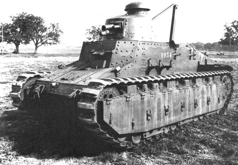 Модернизации легких танков Рено FT Танкодром